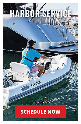 Skyway Yacht Works Harbor Boat Service